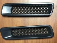 Универсальные воздухозаборники (ноздри) переднего бампера