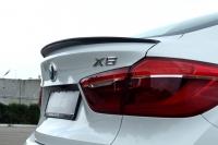 Спойлер для BMW X6 F16 с вырезом