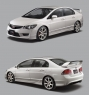 Спойлер TYPE-R для Honda Civic 4D