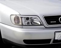 Реснички на фары для Audi A6 (C4)