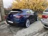 Накладка с диффузором на задний бампер для Opel Astra J GTC