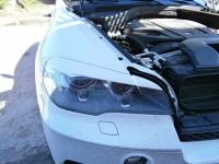 Реснички на фары (широкие) для BMW X5 (E70)