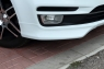 Клыки на передний бампер для Kia Rio (Рестайлинг)