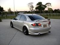Пороги Sport Line для Mazda 6