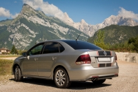Лип-спойлер GT для Volkswagen Polo Sedan