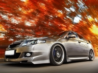 Пороги Mugen для Honda Accord 7