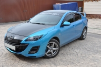 Реснички на фары для Mazda 3 BL