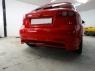 Накладка на задний бампер WTCC для Chevrolet Lacetti Hatchback
