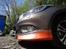 Вставка между клыками для Kia Ceed 2 Дорестайлинг