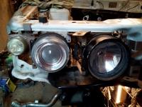 Крепления масок фар Cibie для Mitsubishi Galant 8