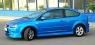Накладка на передний бампер TOP Line для Ford Focus 2