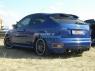 Накладка (диффузор) на задний бампер «Sport» для Ford Focus 2 ST Hatchback (2004-2008)