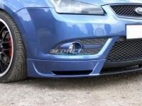 Накладка на передний бампер «Sport» для Ford Focus 2 Cabri (2004-2008)