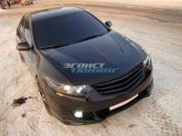Капот пластиковый «Agressive» для Honda Accord 8
