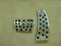 Алюминиевые накладки на педали для Honda Civic 4D AT (АКПП)