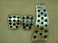 Алюминиевые накладки на педали для Honda Civic 4D MT (МКПП)