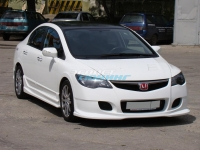Передний бампер «INGS Extreem» для Honda Civic 4D