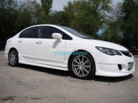 Пороги «INGS Extreem» для Honda Civic 4D