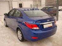 Накладка на крышу для Hyundai Solaris