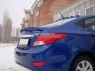 Лип-Спойлер для Hyundai Solaris