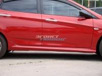 Пороги для Hyundai Solaris
