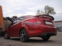 Спойлер высокий для Hyundai Solaris