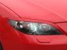 Реснички на фары для Mazda 3 Sedan