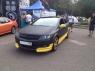 Накладка на передний бампер Rieger для Opel Astra H GTC