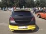 Накладка на задний бампер Rieger для Opel Astra H GTC
