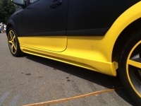 Пороги Rieger для Opel Astra H GTC