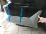 Накладка на задний бампер Cyber для Mitsubishi Galant 8