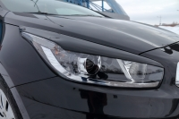 Реснички на передние фары Kia Ceed 2