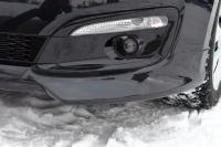 Клыки на передний бампер Kia Ceed 2 Рестайлинг