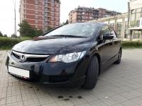 Реснички на фары для Honda Civic 8 (4D)