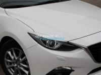 Реснички на адаптивные фары для Mazda 3 BM (2013-2016)