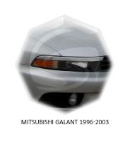Реснички на фары Mitsubishi Galant 8
