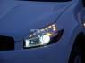 Реснички на фары для Nissan Qashqai
