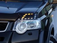 Реснички на фары для Nissan X-Trail 2