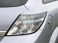 Реснички на задние фонари для Opel Astra H GTC