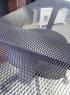 Сетка черная металлическая 100х25 см.