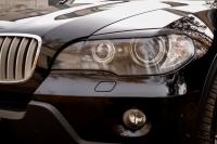 Реснички на фары (узкие) для BMW X5 (E70)