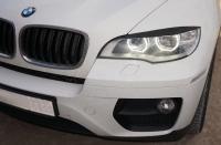 Реснички на LED-фары для BMW X6 (E71)