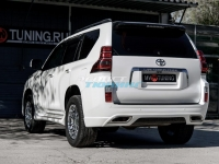 Бампер задний «ELFORD» для Toyota Land Cruiser Prado 150