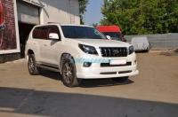 Накладка на передний бампер «JAOS» для Toyota Land Cruiser Prado 150