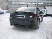 Накладка на задний бампер для Chevrolet Cruze