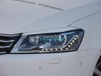 Реснички на фары для Volkswagen Passat B7