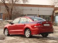 Накладка на задний бампер для Volkswagen Polo Sedan