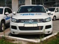 Реснички на фары для Volkswagen Touareg