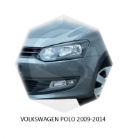 Реснички на фары Volkswagen Polo