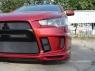 Бампер передний Extreme для Mitsubishi Lancer X